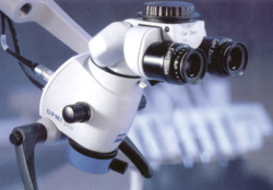 Operating microscope head